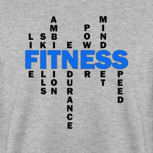 Wolf-FIT definition of fitness - Men's Sweatshirt