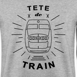 Tete_De_Train_Black_Aubstd - Herre sweater