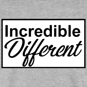 icredibledifferent_logo - Männer Pullover
