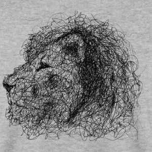 Lion Scribble - Herre sweater