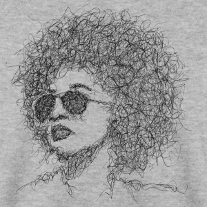 Afro Scribble - Mannen sweater