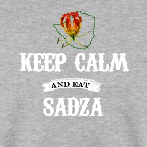 Rhodie Sadza Keep Calm White - Men's Sweatshirt