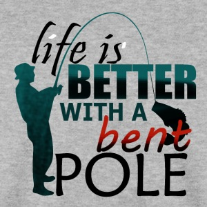 Better Life with Bent Pole - Fishing - Männer Pullover
