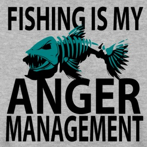 Anger Management - Fiske - Herrtröja
