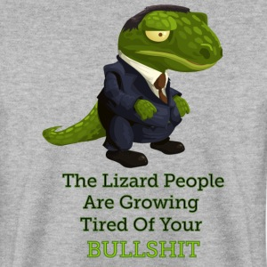 Lizard People - Men's Sweatshirt