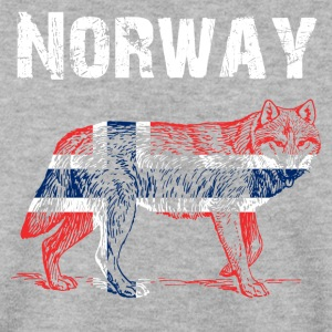 Nation-Design Norway Wolf - Men's Sweatshirt