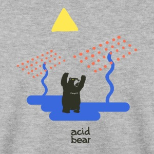 acid bear - Sweat-shirt Homme