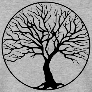 tree circle - Men's Sweatshirt