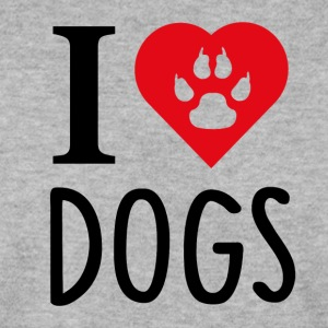 ++ I LOVE DOGS ++ - Mannen sweater