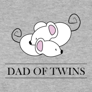 DAD OF TWINS // Daddy of Twins - Men's Sweatshirt