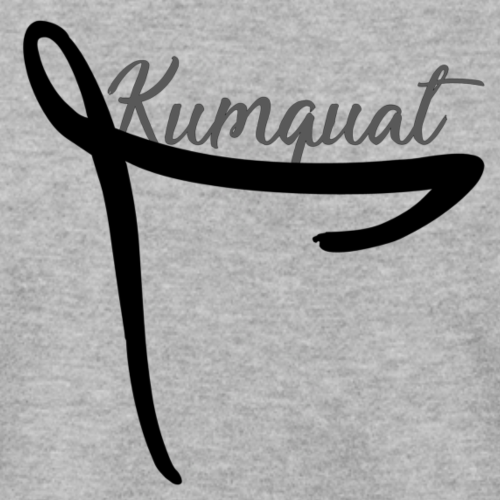 Kumquat Ribbon (Black) - Men's Sweatshirt