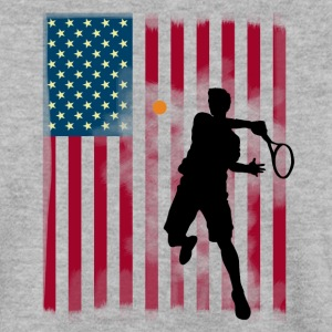 stjärna tennis US Open Amerika flagg tibreak Player - Herrtröja