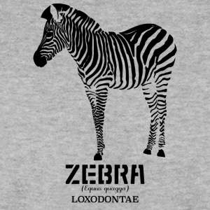 Loxodontae Zebra Black Womens - Mannen sweater