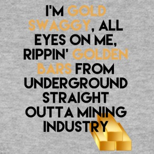 Mining Jeg er Gold swaggy, All Eyes On Me, Rippin' - Genser for menn