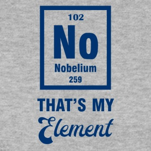 Periodic system: Nobelium - that's my element - Men's Sweatshirt