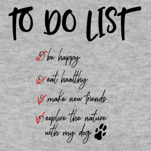 To do list for dog lovers - Men's Sweatshirt