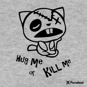 "Happy Tree Friends ""Hug me or kill me"" - Dark cat ' - Männer Pullover"