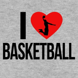 I LOVE BASKETBALL - Men's Sweatshirt
