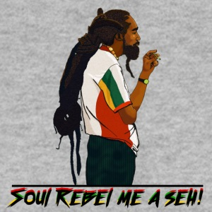 Soul Rebel rastaman - Men's Sweatshirt
