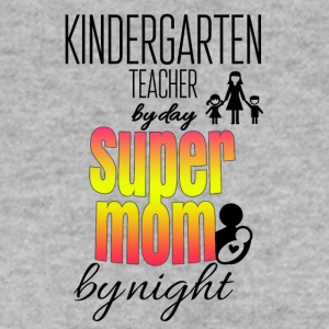 Kindergarten teacher by day and super mom by night - Männer Pullover