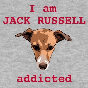 jack russel accro rouge - Sweat-shirt Homme