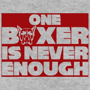 Dog / Boxer: One Boxer Is Never Enough - Men's Sweatshirt