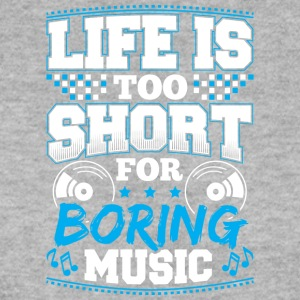 DJ - life is Short - Bluza męska