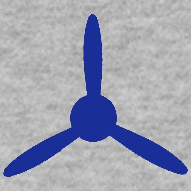 3 blade propeller 1 colour