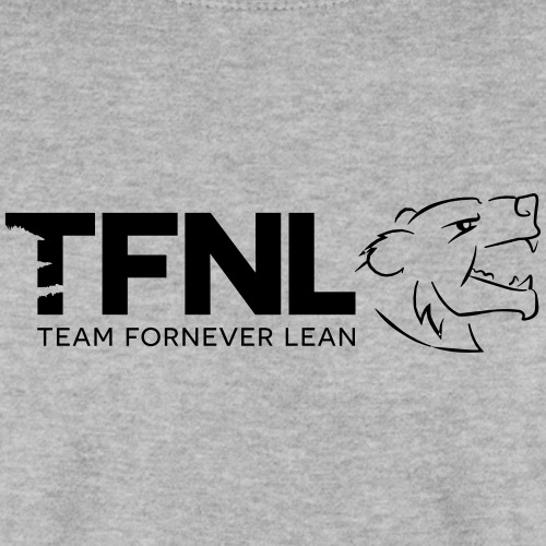 TFNL Black/Grey Logo Jumper - Unisex Sweatshirt