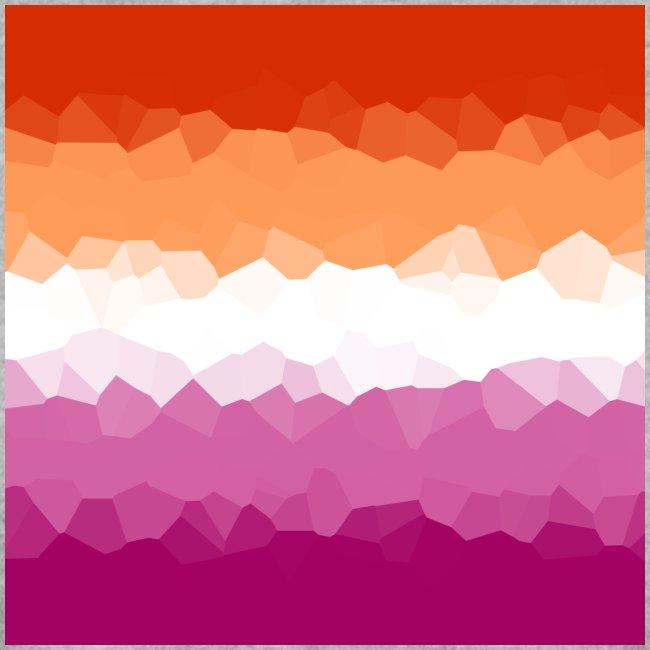 Lesben Flagge Mosaik