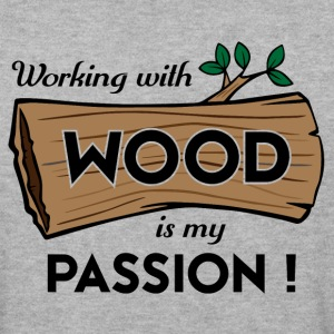 Passion-Design Wood - Men's Sweatshirt