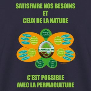 Ethics and Principles of Permaculture - Men's Sweatshirt