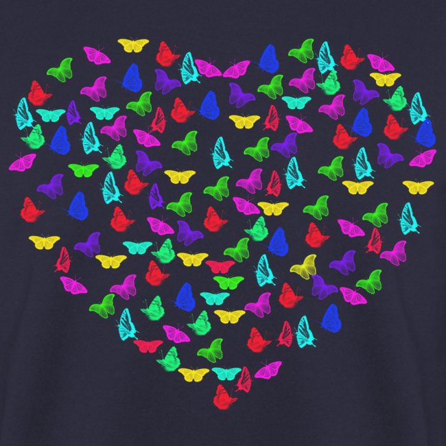 Butterflys heart