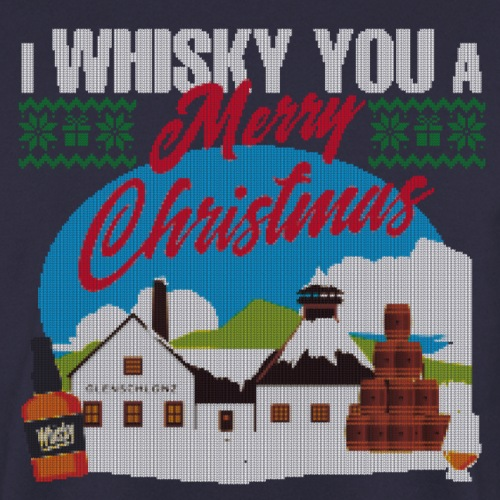 I whisky you a MERRY CHRISTMAS - Unisex Pullover