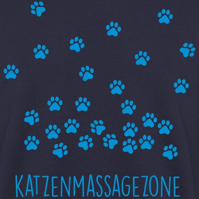 Vorschau: Katzen Massage Zone - Unisex Pullover