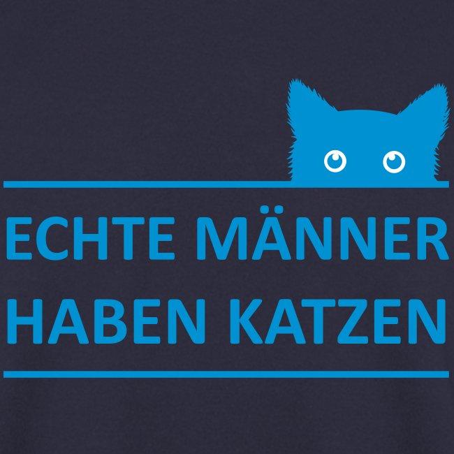 Vorschau: Echte Männer haben Katzen - Unisex Pullover