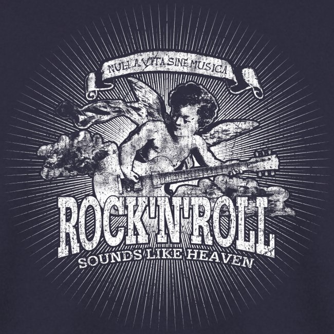 Rock 'n' Roll - Sounds Like Heaven (white)