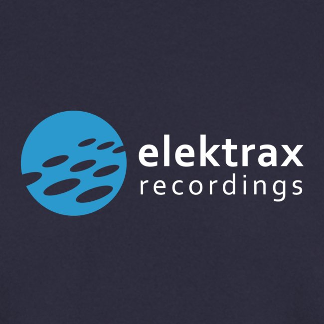 logo elektrax recordings blue