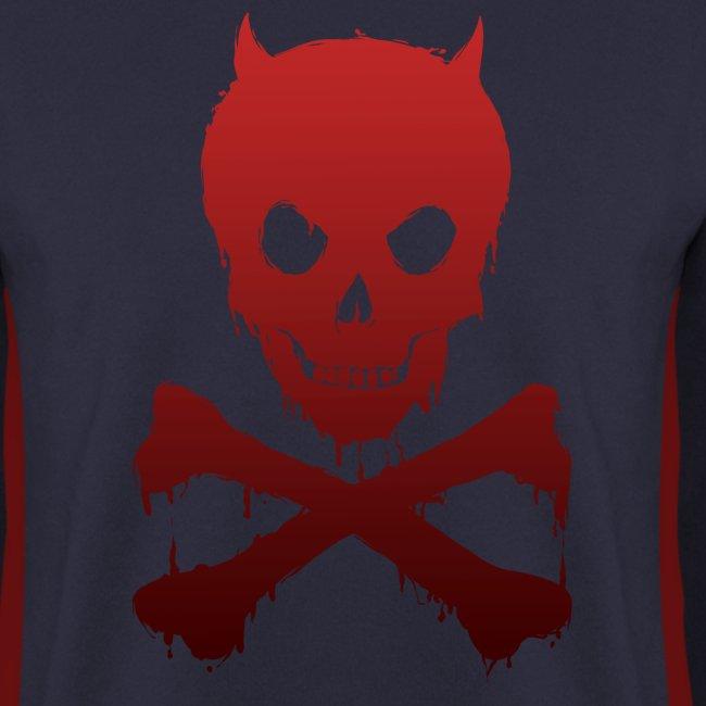 Totenkopf Pirat Kinder Pulli