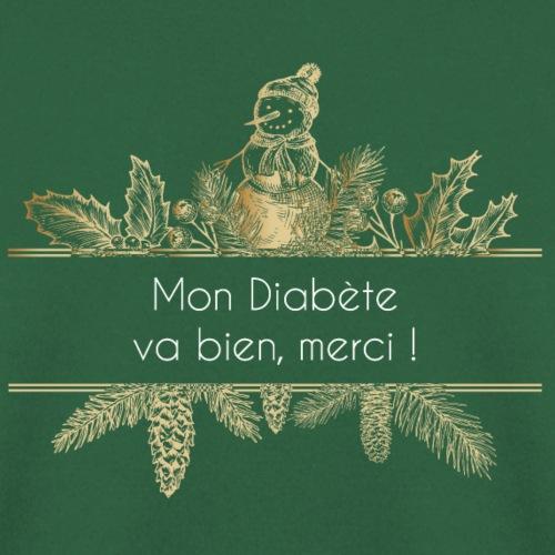 Pull de Noël spécial Diabète - Sweat-shirt Unisexe