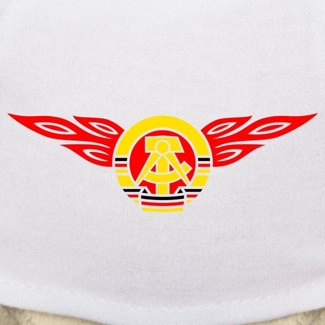 GDR flames crest 3c