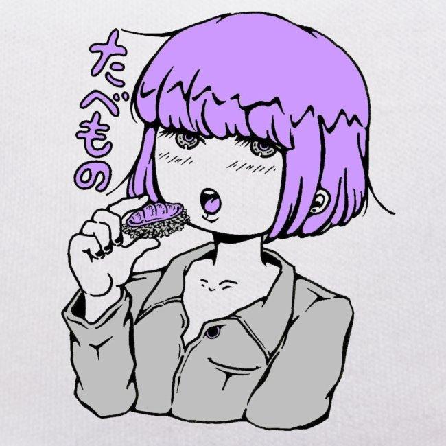 fille kawaii manga sushi japon
