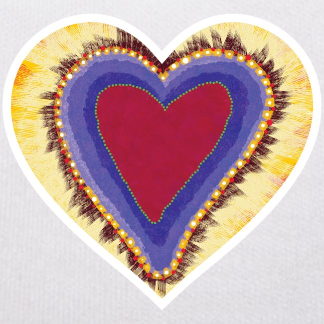 Red heart passion Symbol