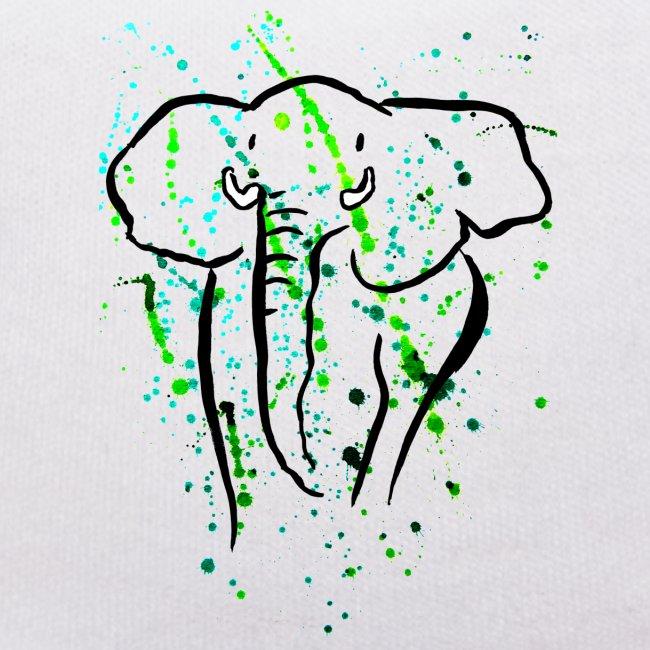 Afrikanischer Elefant - Kunst