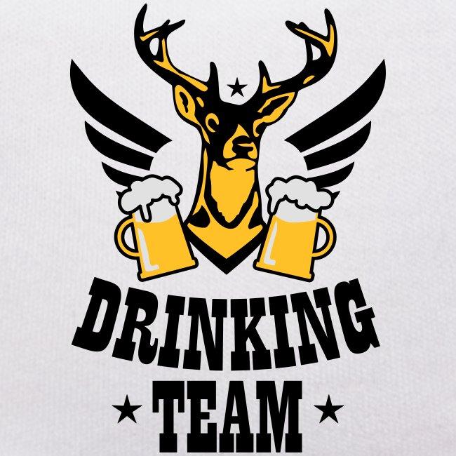 67 Hirsch mit Flügeln Drinking Team Mass Bier
