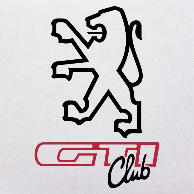 logo peugeot gti club ned