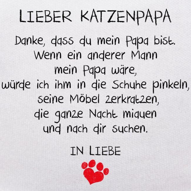Vorschau: Lieber Katzenpapa - Teddy