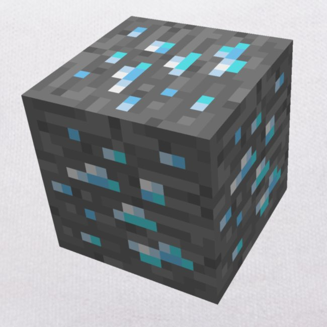 BLOCK DE DIAMANT MINECRAFT