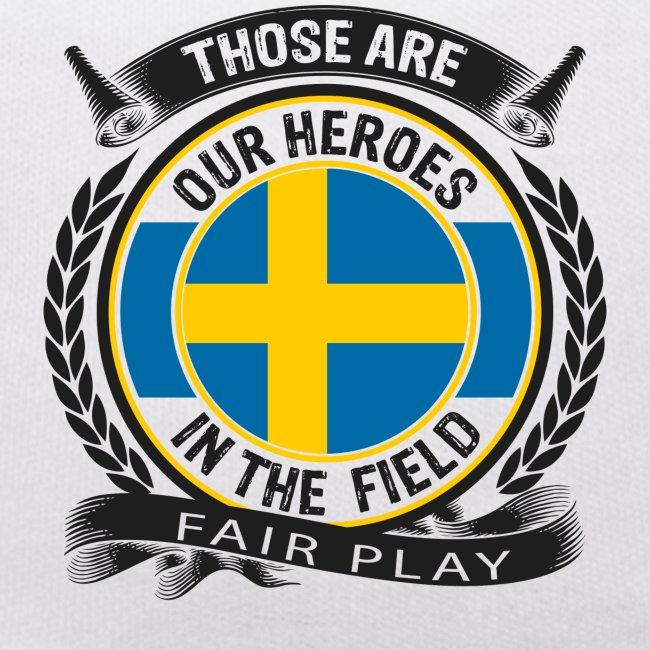Schwedenteddy bedruckt mit Name