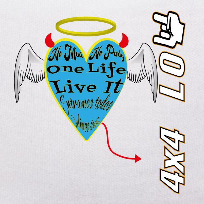 One Life Live It 4x4 Low